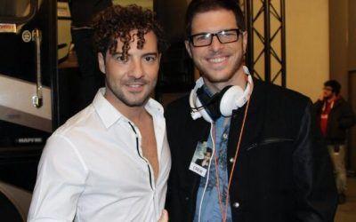 Cristian Valencia con David Bisbal